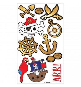 Kleepsud/tattoo Pirates...
