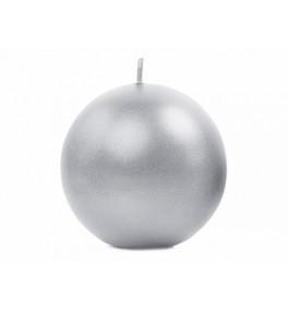 Küünal met.Silver 8cm