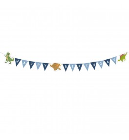 Banner Happy Dinosaur 180 x...