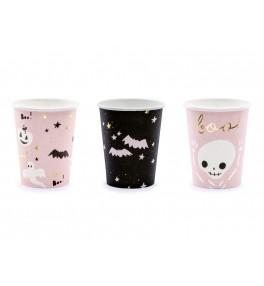 Paper cups Boo!, mix, 220ml
