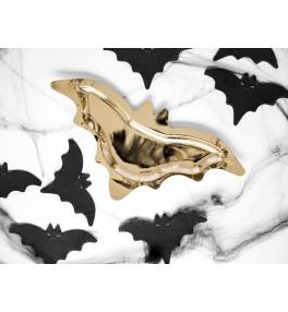 Paper plates Bat, gold,...