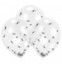 6 Latex Balloons Clear...