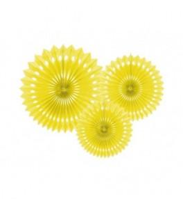 Dekoratsioon ' Fan yellow'...