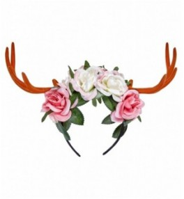 Peavõru Hirvesarved lilledega